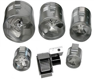 Duct Booster Fans : Crawl Space Ventilation : Dryer Boosting