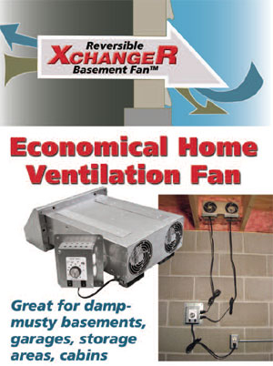 XchangeR Basement Fan  sc 1 st  Tjernlund & Our New Products : Basement Fans : Room to Room Fan : Crawl Space ...